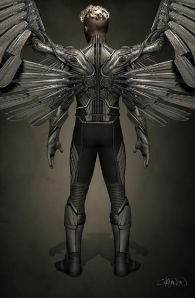 O design do Anjo em Apocalipse.