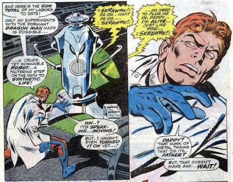 Hank Pym cria Ultron.