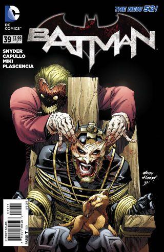 A bela capa da edição anterior, por Greg Capullo.