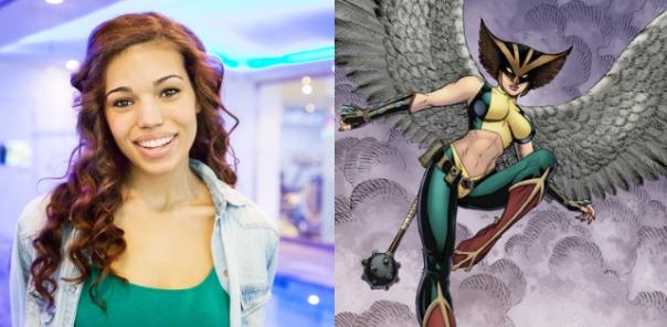 Ciara Renné irá interpretar a Mulher-Gavião no spin-off de Arrow e Flash.