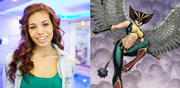 Ciara Renné irá interpretar a Mulher-Gavião no spin-off de Arrow e Flash.