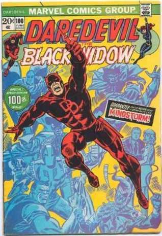 Capa de Daredevil 100, por Marie Severin.