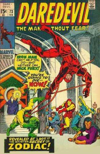 O crossover com o Homem de Ferro.