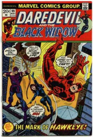 A revista muda o nome para Daredevil & Black Widow.