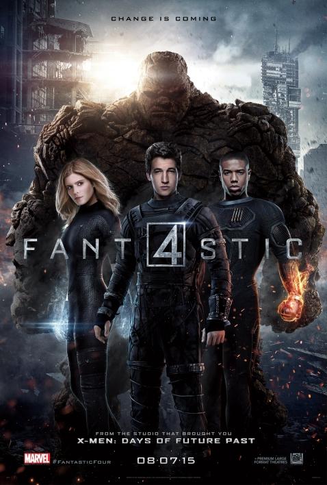 Quarteto Fantástico: novo trailer.
