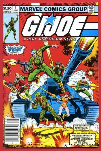 G.I. Joe foi outra revista popular assinada por ele.