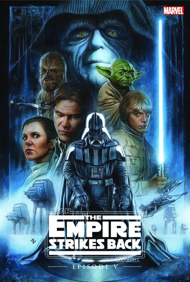 As capas de O Império Contra-Ataca...