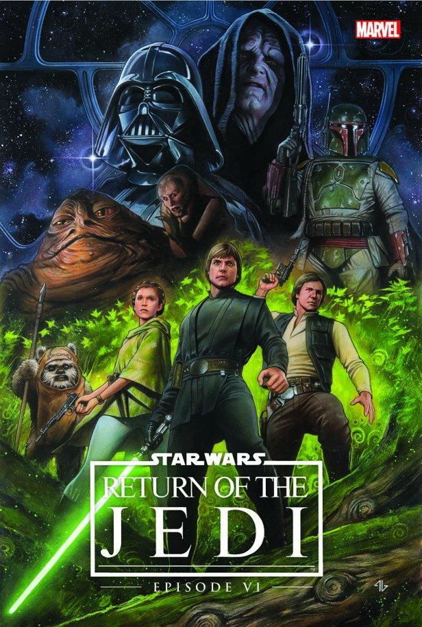 ...e O Retorno de Jedi, por Adi Granov.