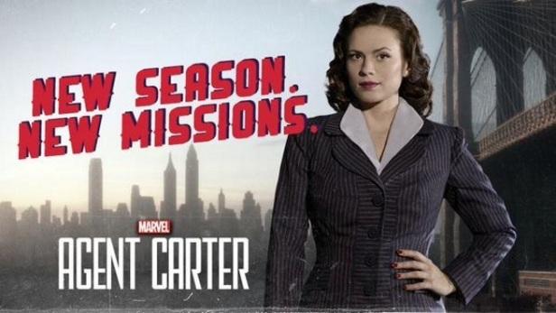 Poster da segunda temporada de Agent Carter.