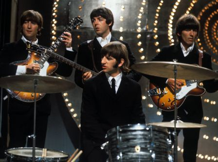 beatles live 1966 color