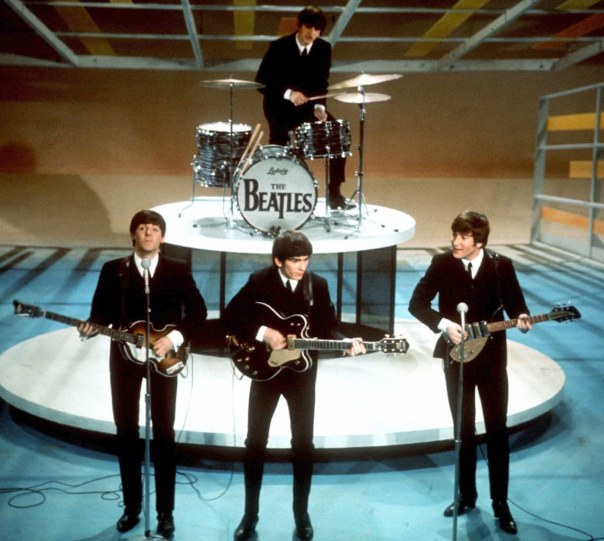 Beatles ao vivo no ED Shullivan Show.