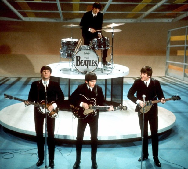 beatles live in the ed sullivan show standart color