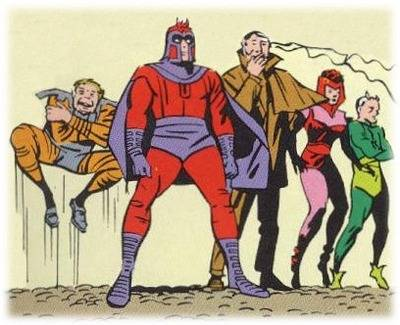 brotherhood-of-mutants orignal team by jack kirby