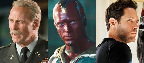 General Ross, Visão e Homem-Formiga também aparecem no vídeo.