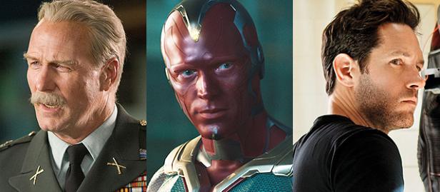 General Ross, Visão e Homem-Formiga também estarão no filme.