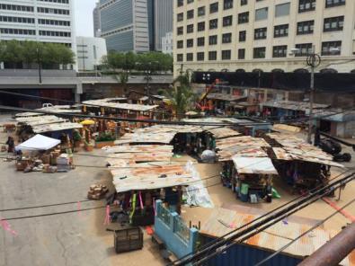 Um mercado em Wakanda.