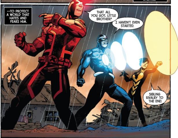 Ciclope e Destrutor nos quadrinhos: irmãos?
