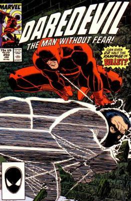 John Romita Jr. chega à revista em Daredevil 250.