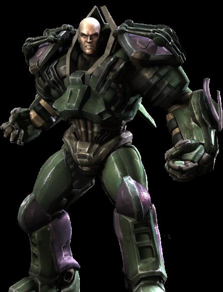 Luthor de armadura: outra possibilidade.