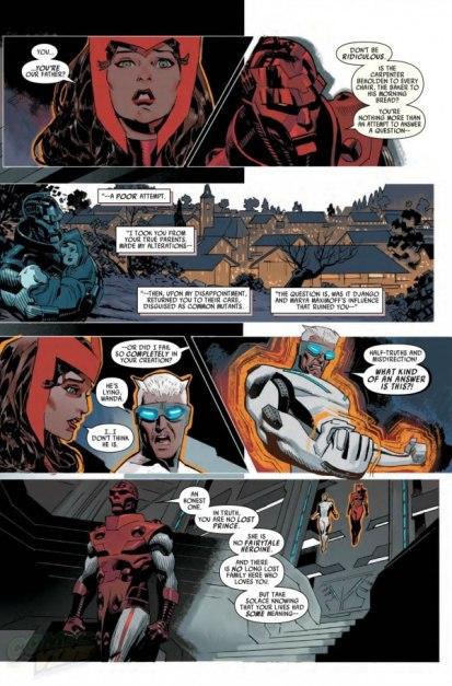 Uncanny X-men 04 traz a nova verdade.