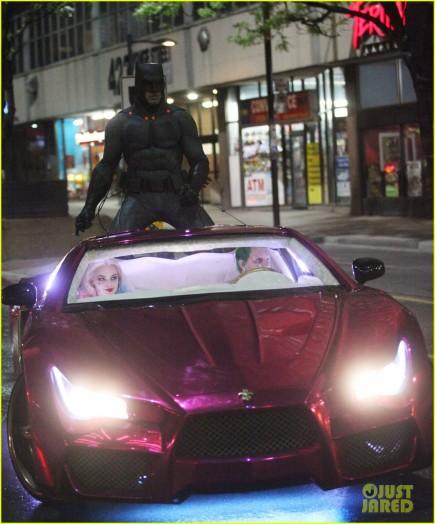 Batman grava cena que está no trailer de Esquadrão Suicida.