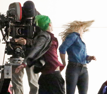 suicide-squad movie sets joker and harleyquinn scene 3