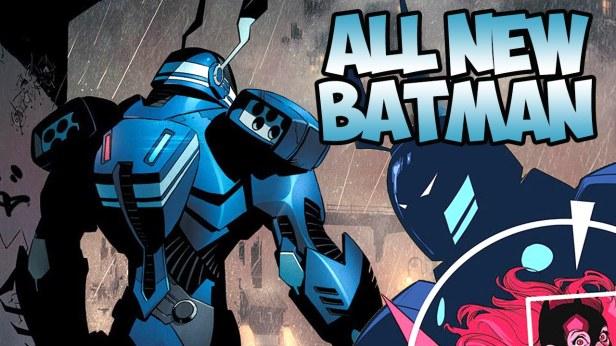Detalhe da capa de Batman 41.