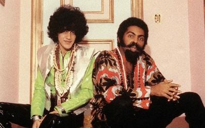 Caetano e Gil nos anos 1970: Tropicália.