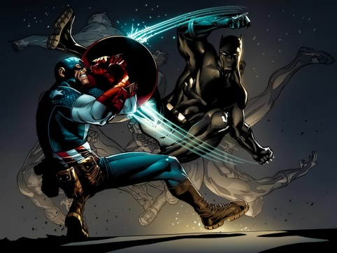 Capitão América vs. Pantera Negra: veremos essa cena no filme?