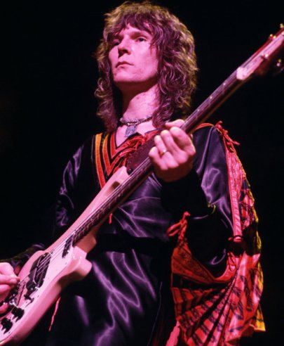 Squire nos anos 1970: um dos maiores baixistas do rock.