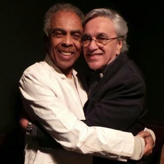 Gilberto Gil e Caetano Veloso: show em Israel.