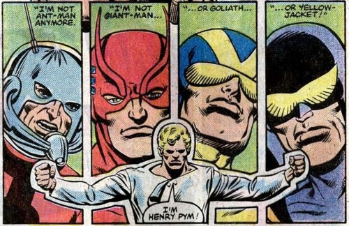 hank pym and identities 2
