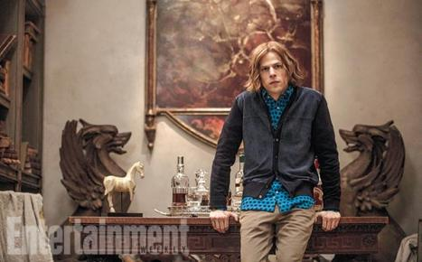 Lex Luthor ainda com cabelos.