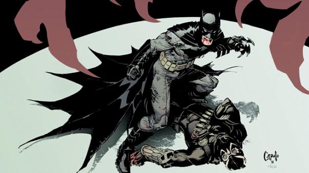 Batman versus o Garra.