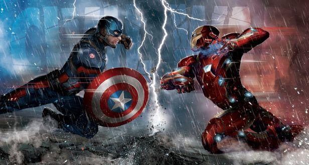 Imagem promocional de Guerra Civil: rivalidade amenizada?