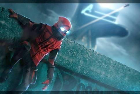 Homem-Aranha não está no vídeo. Arte na internet de um suposto material do filme.