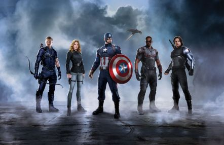 O aliados do Capitão América: Homem-Formiga, Gavião Arqueiro, Agente 13, Falcão e Soldado Invernal.