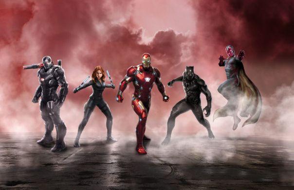 O time do Homem de Ferro.