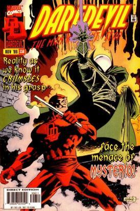 A edição contra Mysterio.