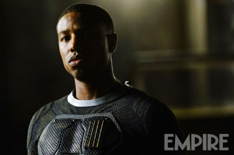 Michael B. Jordan, o Johnny Storm.