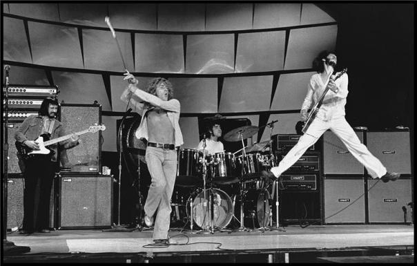 The Who ao vivo em 1969.