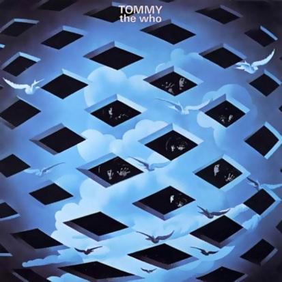 A capa do álbum Tommy, de 1969.