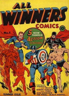 O Esquadrão Vitorioso da Marvel daria origem aos Invasores.