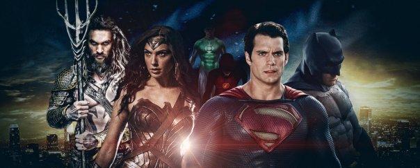Aquaman, Mulher-Maravilha, Superman e Batman: Liga da Justiça
