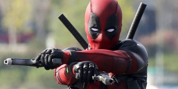 deadpool movie two guns from sets
