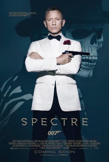 Spectre: homenagem aos filmes antigos.