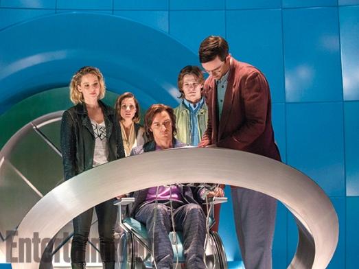 Os jovens X-Men em Apocalipse.