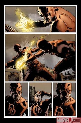 Punho de Ferro ajuda a inocentar o Demolidor.