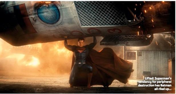 Superman: temido por seus poderes.