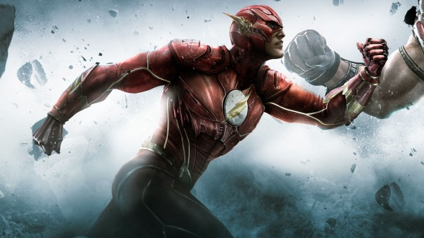 O Flash do videogame Injustice: God Among Us. Influência?